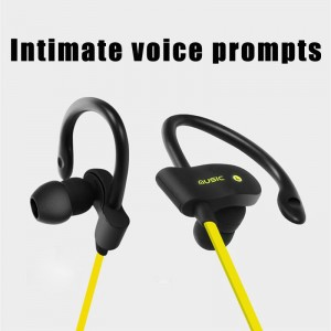 Wireless Stereo Bluetooth V4.1 Sports Earphone On-ear Headphone Earbuds Hands-free Headset for iPhone 7 Plus Samsung