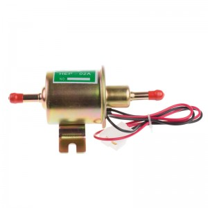 LemonBest-New 12V Universal Electric Fuel Pump Fit For Diesel & Petrol Engines 3-6 PSI 8mm