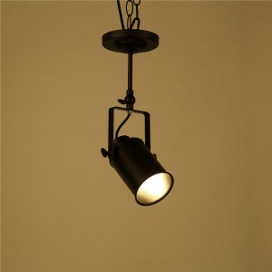 Vintage Loft Pendant Light Sconce Industrial Edison Lighting  Ceiling Lamp E27 Socket (No Bulb Included)