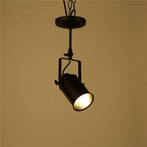 Vintage Loft Pendant Light Sconce Industrial Edison Lighting  Ceiling Lamp E27 Socket (No Bulb Included)