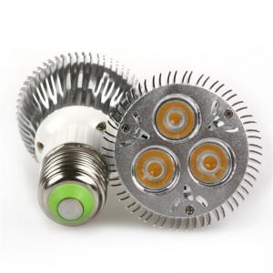 Lemonbest-9W E27 PAR20 LED Bulb Small Spotlight Lamp Cool White/Warm White AC 100-245V