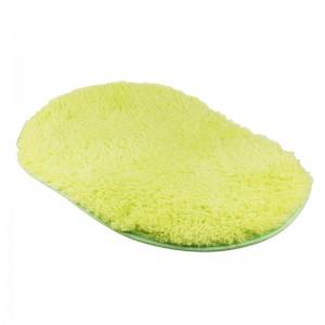LemonBest-(Green)Bathroom Shaggy Rug Antiskid Bath Mat Floor Shower Bedroom Carpet Floor Footcloth