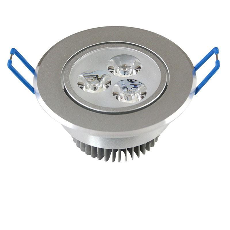 LemonBest -9W LED Ceiling Light Recessed Spotlight Downlight Cool white  100-245V