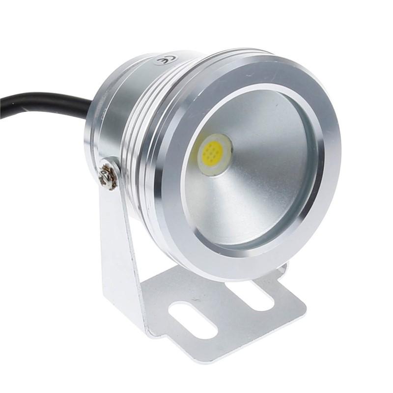 10W Cool White LED Underwater Fountain Light Spotlight Pool Pond