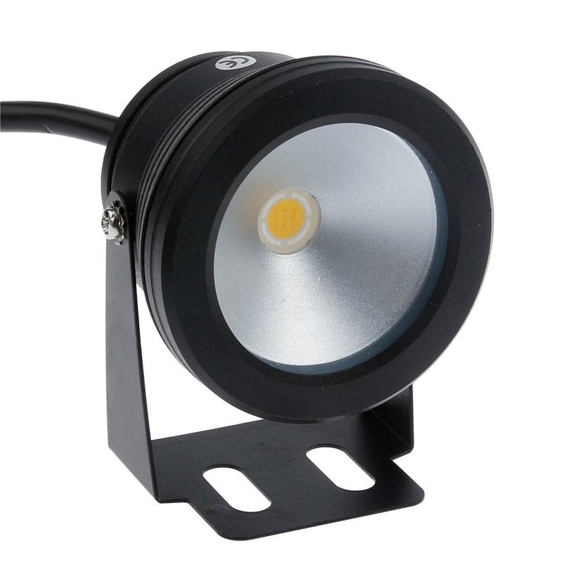 IP65 10W Warm White LED Underwater Fountain Light Spotlight Timing Function Pool Pond Fish Tank Aquarium LED Light Lamp