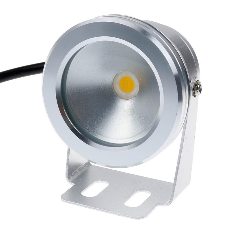 IP68 10W Warm White LED Underwater Fountain Light Spotlight Pool Pond Fish Tank Aquarium LED Light Lamp
