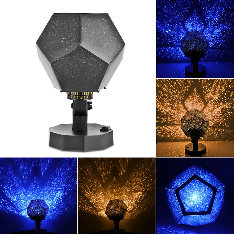 Romantic Fantastic DIY Season Star Projector Light Astro Star Lamp Twelve  Constellations Pattern Display With Power Supply