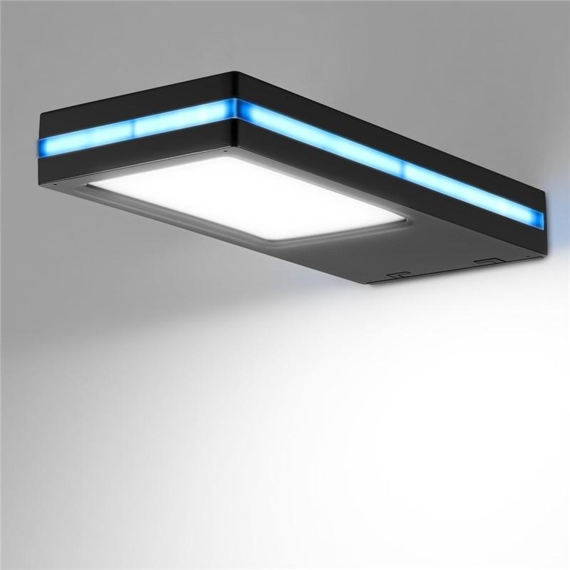 Lemonbest Solar Powered Rader Sensor Light Wall Lamp Waterproof Night Sensor LED Lamp Outdoor Lamp