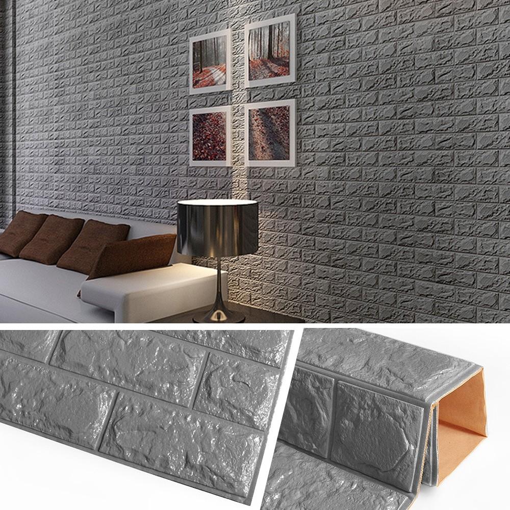 Diy Self Adhesive 3d Wall Stickers Bedroom Decor Foam