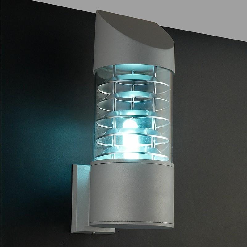 Waterproof Aluminum Glass Lampshade Led Wall Light