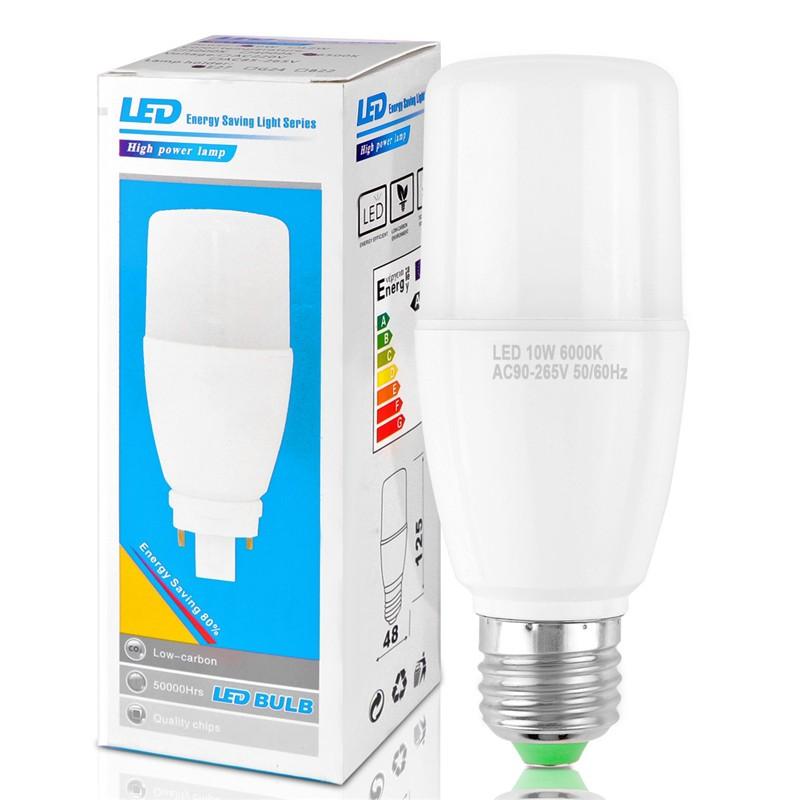 E27 7W/10W LED Bulb Light Replacement Incandescent Bulb Soft Cool White 6000K AC 85-265V