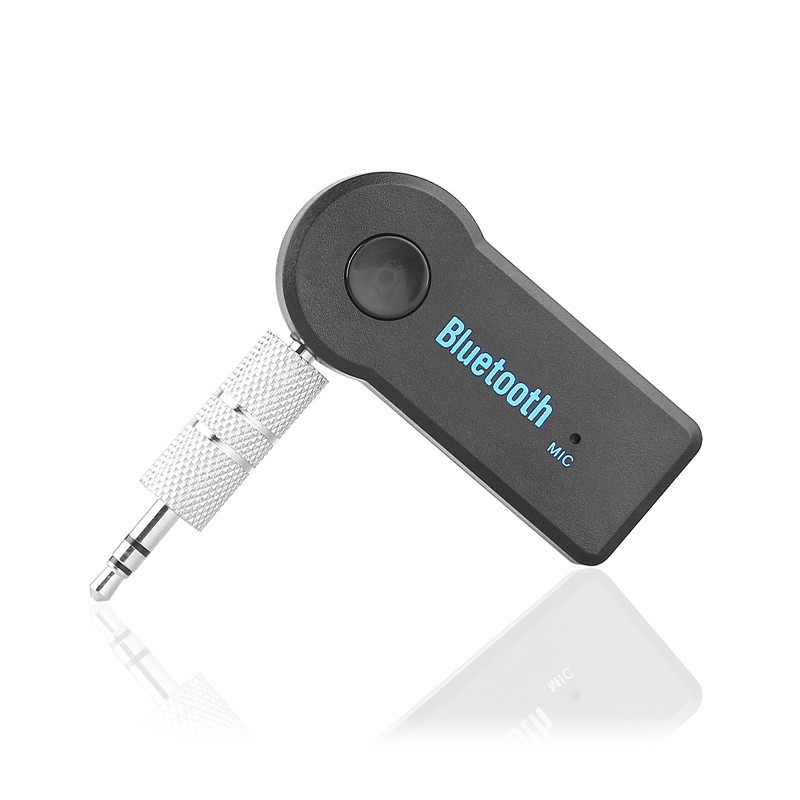 LemonBest-Universale 3.5mm Car Bluetooth Audio Music Receiver Adapter Auto AUX   Streaming A2DP Kit for Speaker Headphone