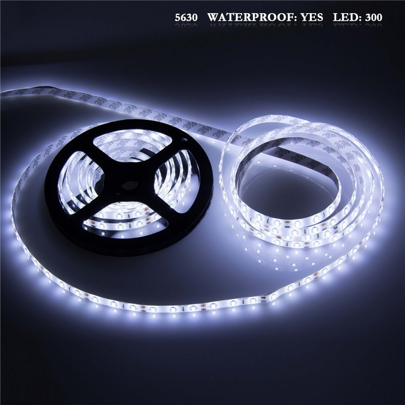 Lemonbest Cool 5630 5m White 300 Smd 12v Led Flexible