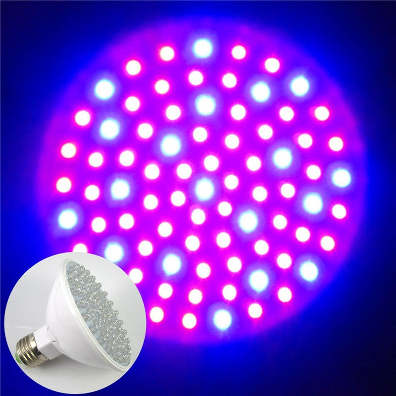 E27 4 5w Red And Blue 80 Leds Hydroponic Light Led Plant