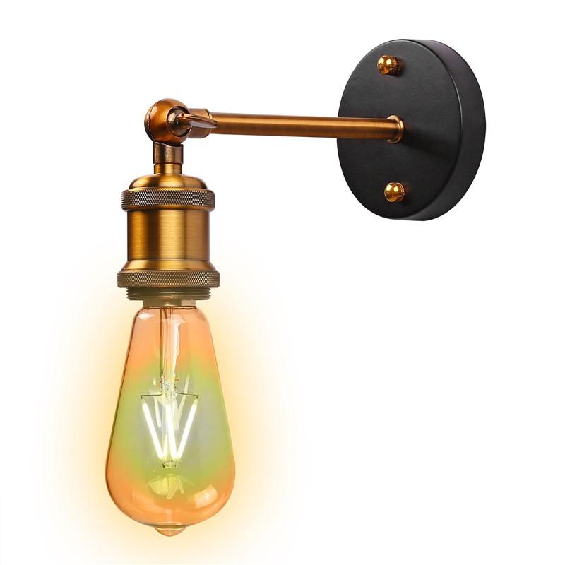 Adjustable Vintage Industriial Metal Wall Light Sconce
