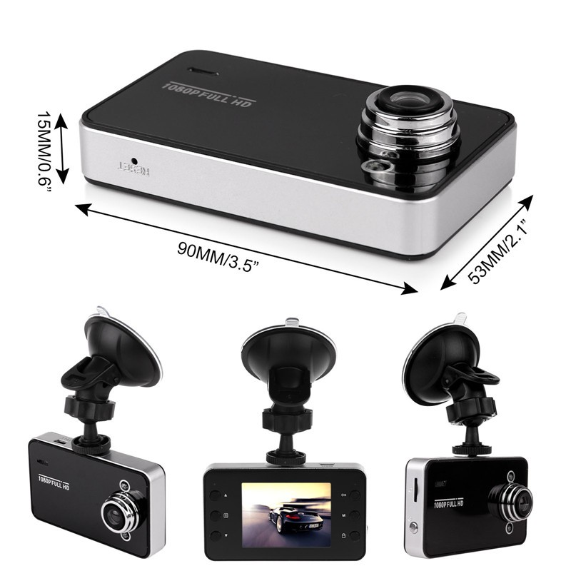 "Mini 2.4"" HD 720P Car Camera DVR Camcorder Auto Tachograph Video Recorder K6000"
