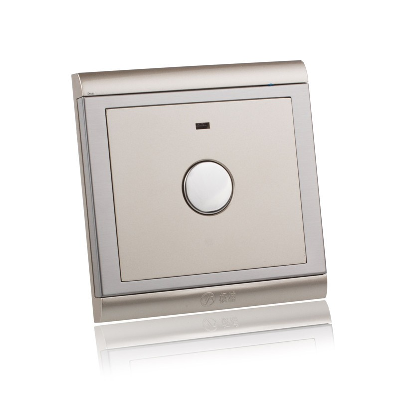 LemonBest-1 Gang 1 Way Panel Touch Switch Wall Switches for Light LED