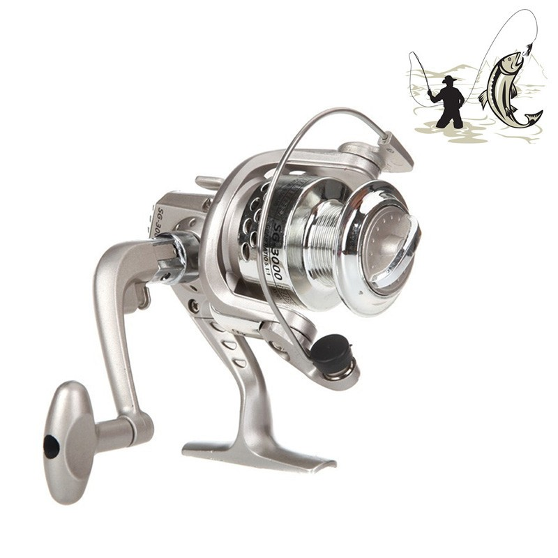 LemonBest - 6BB Left Right Handle High Speed Gear Spinning Fly Fishing Reel SG3000 5.1:1