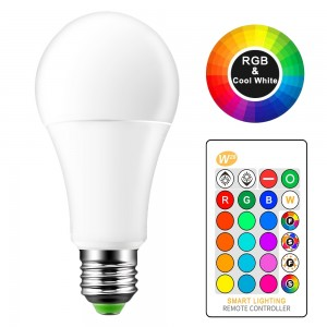 Lemonbest 15W RGBW LED Bulb E27 Color Changing Atmosphere Lighting LED Lamp Flash Strobe Fade Mode Bar KTV Decorative Lights
