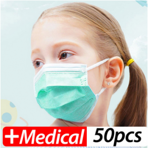 Professional Children Medical Mask Pm2.5 Disposable Mask Non-woven Breathable Facial Mask