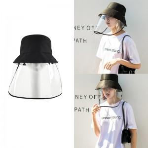 Safety Anti-Splashing Mask Cover Hat Anti-Spittle Anti-Dust Cover Full Face Eyes Protection Mask