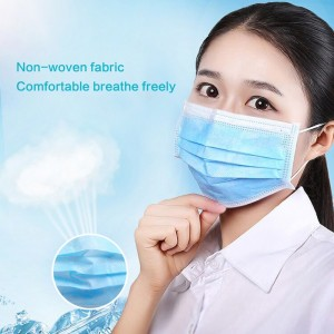 Disposable Face Masks (Pack of 100ct)