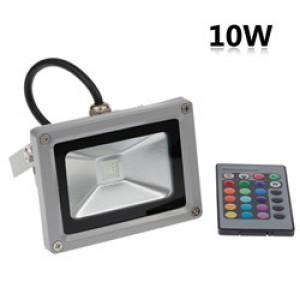 Lemonbest- Waterproof 10W Warm White/Cool White/RGB LED Flood Light Spotlight Lamp AC 100-245V for Outdoor Garden Landscape