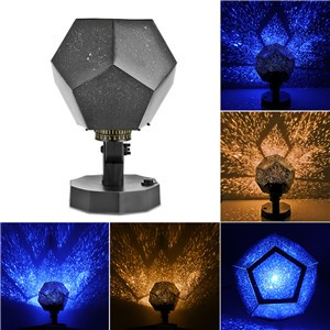 Lemonbest - Romantic Fantastic DIY Season Star Projector Light Astro Star Lamp Twelve Constellations Pattern Display with Power Supply