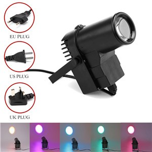 lemonbest -15 W RGB LED Stage Light Spotlight Professional DISCO KTV DJ Stage Lighting Effect AC90-240V