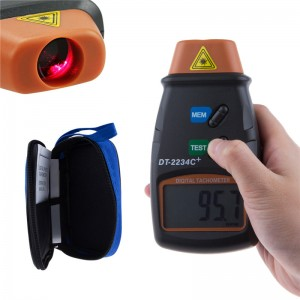 LemonBest-Digital Photo Laser Tachometer RPM Tester Handheld Non Contact Tach Tool
