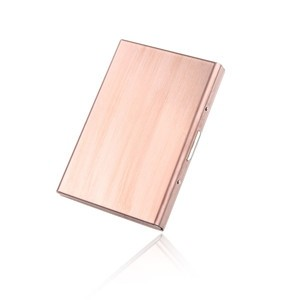 RFID Blocking Credit Card Holder Stainless Steel Wallet Case for ID Card Business Cards Driver License