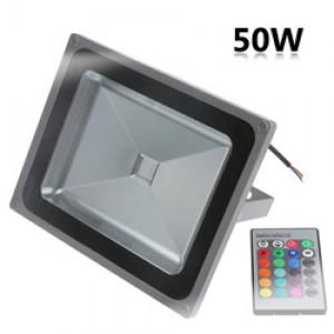 Lemonbest- Waterproof 50W Warm White/Cool White/RGB LED Flood Light Spotlight Lamp AC 100-245V for Outdoor Garden Landscape