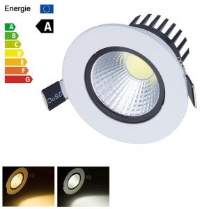 LemonBest - New 6W 9W 12W 15W Dimmable COB LED Ceiling Recessed Fixture Down Light Bulb Lamp With Driver