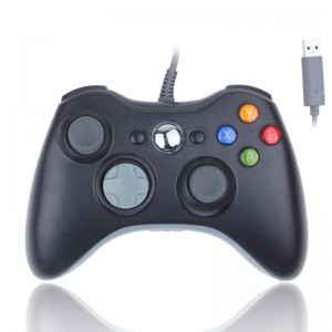 LemonBest-USB Wired Gamepad Controller for Microsoft Xbox 360 WII PS3 Slim PC Windows