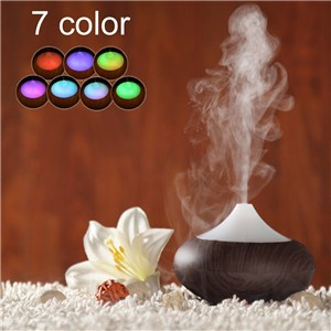 LemonBest-02K 160ml Aroma Oil Ultrasonic Diffuser Humidifier Fragrance Machine Nebulizer Spa Diffusers with Colorful LED Cool Mist Whisper Quiet