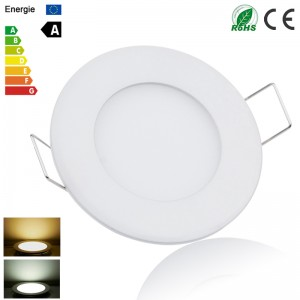 LemonBest - (Round) Dimmable 6W 9W 12W 15W 18W 21W LED Recessed Ceiling Panel Down Light Lamp