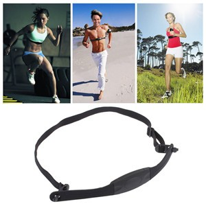 LemonBest-Bluetooth 4.0 Wireless Sport Heart Rate Monitor Smart Sensor Chest Band Strap for iPhone 4S 5 5S 6 6S Plus iPad Android iOS