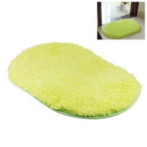 LemonBest-(Green)Bathroom Shaggy Rug Antiskid Bath Mat Floor Shower Bedroom Carpet Floor Footcloth