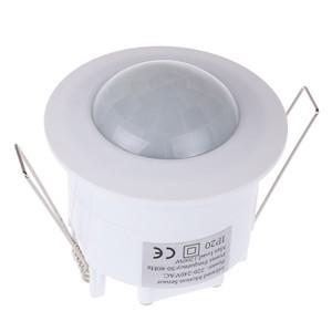 LemonBest-220V-240V 360° Infrared Recessed PIR Ceiling Motion Sensor Detector Light Switch