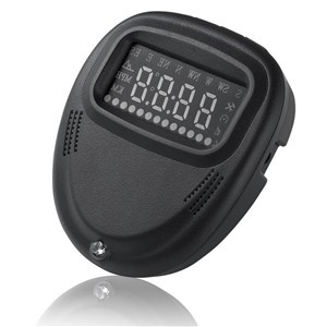 LemonBest-Universal Car A1 GPS HUD Head Up Display MPH / KM/h Over Speeding Warning Head Up Display