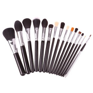 LemonBest-15pcs Makeup Make Up Brush Set Cosmetic Tool Eyeshadow Foundation Concealer
