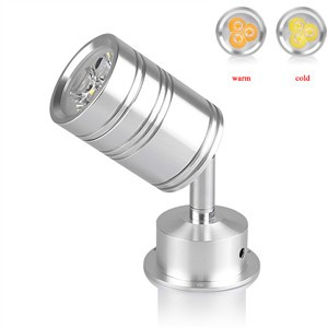 LemonBest-3W 360 Degree Rotary LED Light Bulb Spotlight Lamp with Moving Head Cool/ Warm White AC/DC 12V