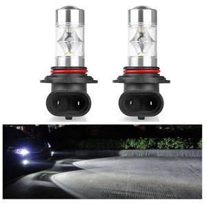 LemonBest-2pcs 9006 Samsung 2323 SMD 12 LED Car Fog Light Headlight Day Running Driving   Lamp Bulb Cool White 12-24V