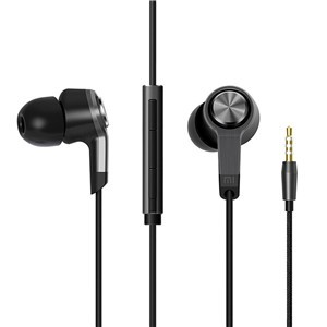 LemonBest-Xiaomi Piston 3 Generation Edition Wired 3.5mm Earphone with Mic for Apple iPhone Samsung