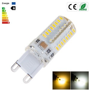5W G9 64LED Crystal Light Lamp Cool White/Warm White AC 110V/AC 220V