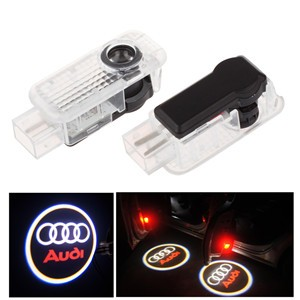 LemonBest-2pcs Ghost Shadow LED Car Door Welcome Light for Audi
