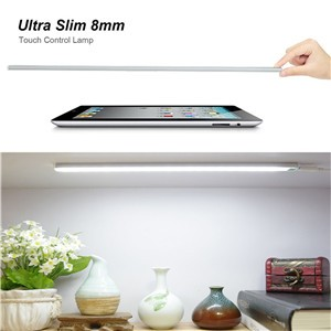 Portable Stepless Dimmer Touch Control USB LED Light Unlimited Dimmable Lamp for Desk Closet