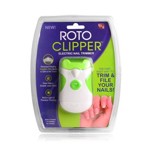 LemonBest-Roto Clipper Electric Nail Trimmer Grind Nail Art Tool