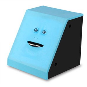 Face Bank Coin Eating Saving Bank Automatic Money Saving Box