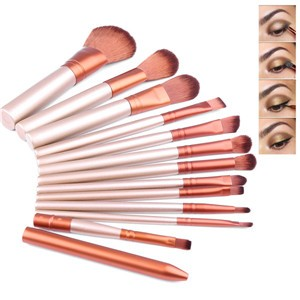 12pcs Makeup Make Up Brush Set Cosmetic Tool Eyeshadow Eyeliner Lip Foundation Concealer